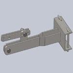 Сцепка Oleo-Mac MH150RK №3 (для стойки 10мм)